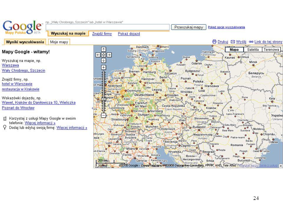 25 Google grupy dyskusyjne Google Groups to serwis umożliwiający przeglądanie grup dyskusyjnych i przeszukiwanie ich archiwum oraz tworzenie własnych list dyskusyjnych, zwanych tu grupami, które są na serwerze Google.