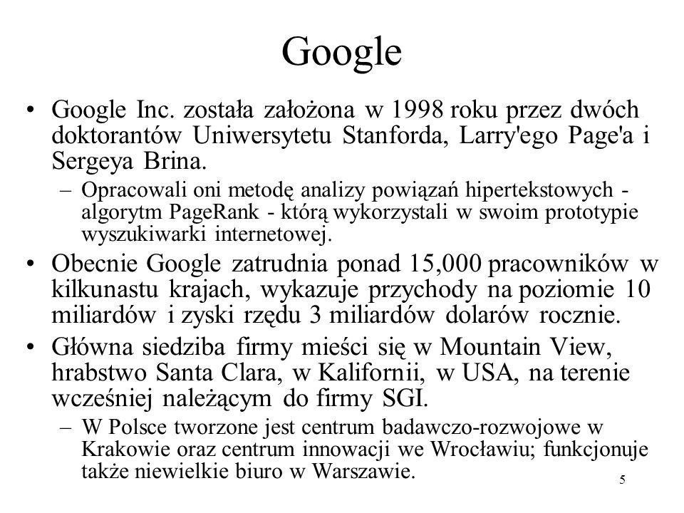 6 Siedziba firmy www.wikipedia.org