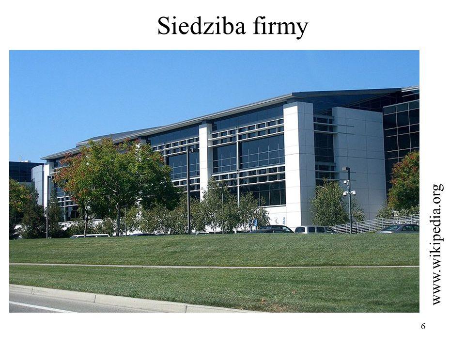 7 Nazwa firmy Nazwa firmy pochodzi od terminu matematycznego googol.