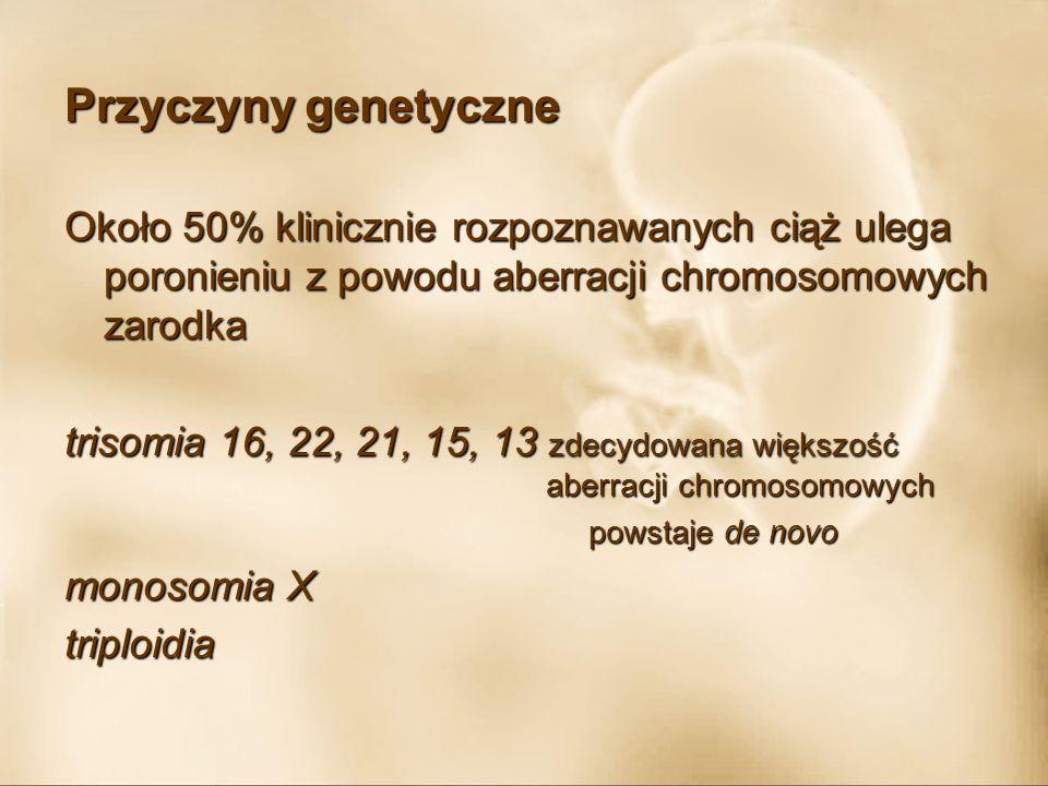 Nieprawidłowości maciczne Wrodzonemacica: - dwurożna - z przegrodą - jednorożna - hypoplastyczna