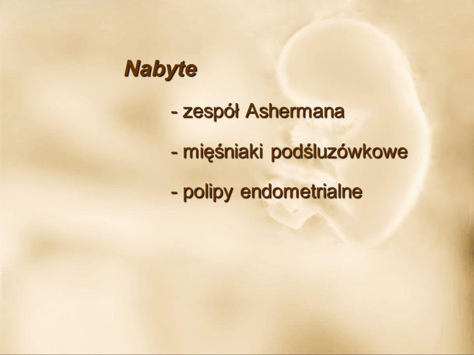 Przyczyny immunologiczne - przeciwciała antyfosfolipidowe przeciwciała antykardiolipinowe przeciwciała antykardiolipinowe antykoagulant tocznia antykoagulant tocznia przeciwciała przeciw ß 2 glikoproteinie 1 przeciwciała przeciw ß 2 glikoproteinie 1