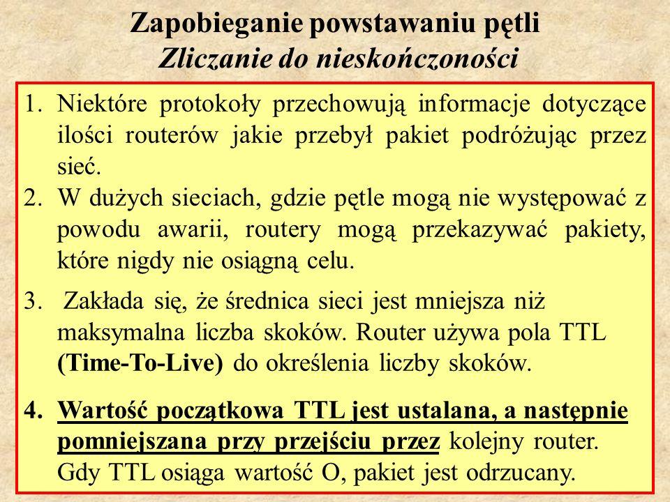 MS (PSK Laboratorium 4)26 Routing Information Protocol (RIP)