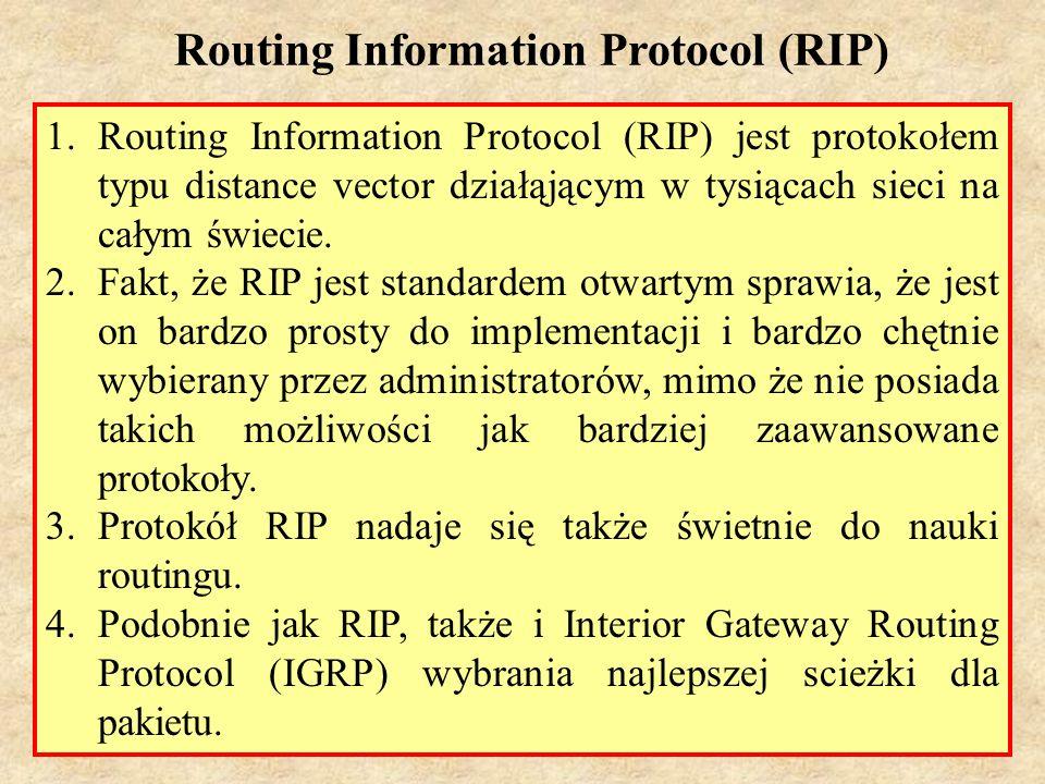 MS (PSK Laboratorium 4)28 1.Protokół RIP na granicy sieci dokonuje sumowania podsieci.