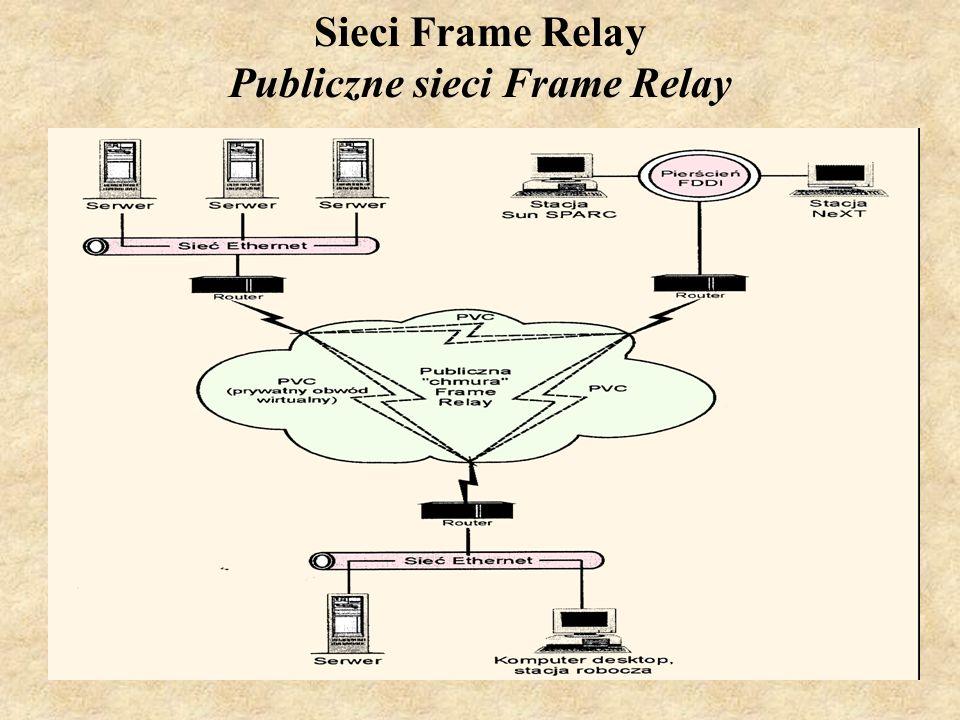 SK Laboratorium 619 Sieci Frame Relay Publiczne sieci Frame Relay