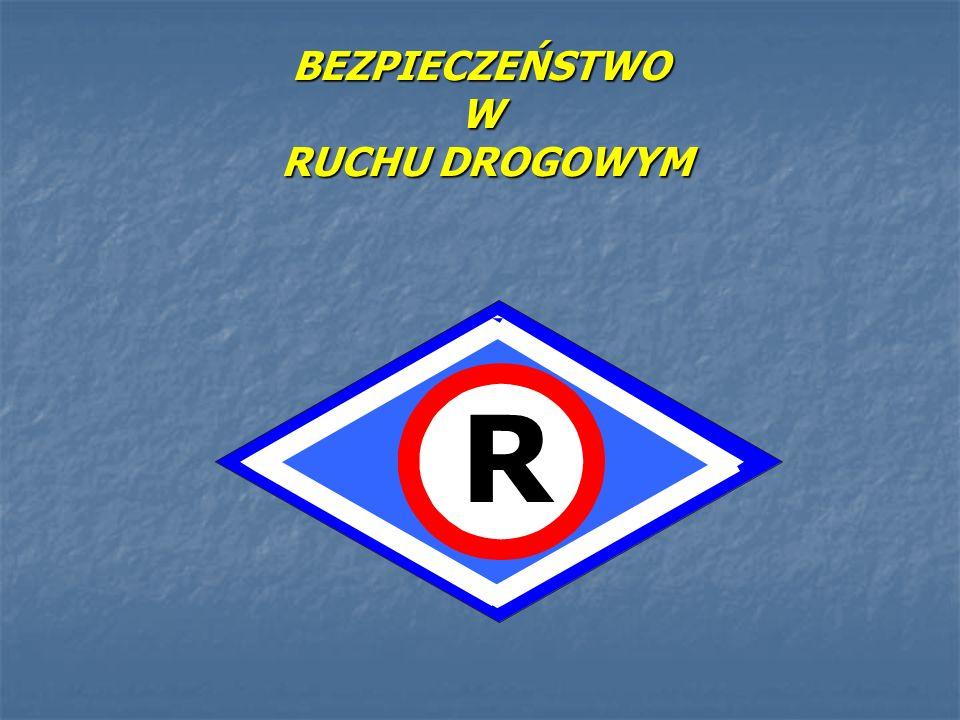 BEZPIECZEŃSTWO W RUCHU DROGOWYM R
