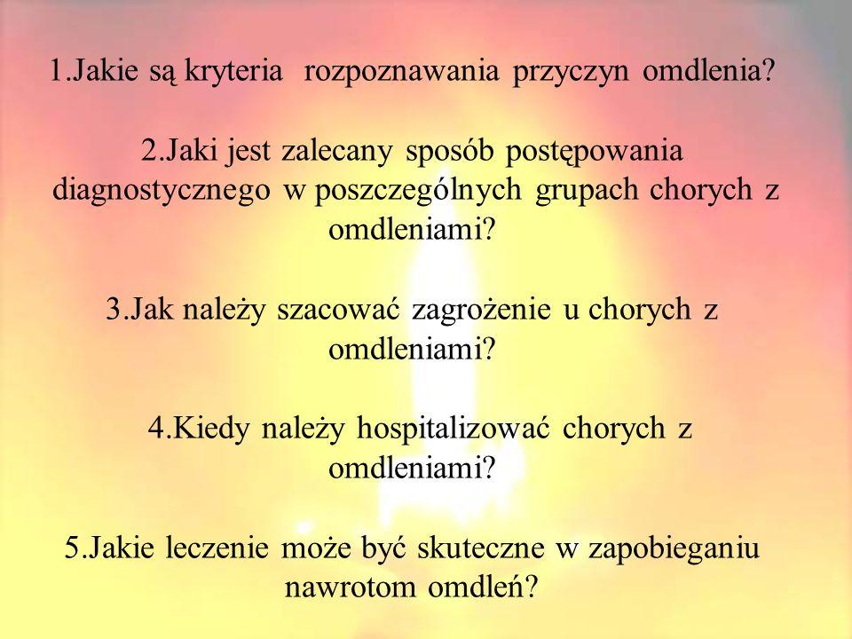 OMDLENIE JEST OBJAWEM PRZEMIJAJĄCYM, A NIE CHOROBĄ!!.