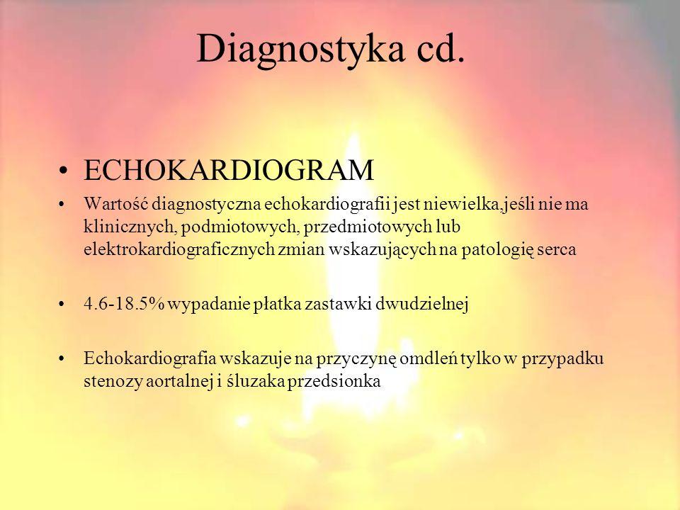 Diagnostyka cd.Masaż zatoki tętnicy szyjnej. Wykonujemy w celu ujawnienia zespołu tętnicy szyjnej.