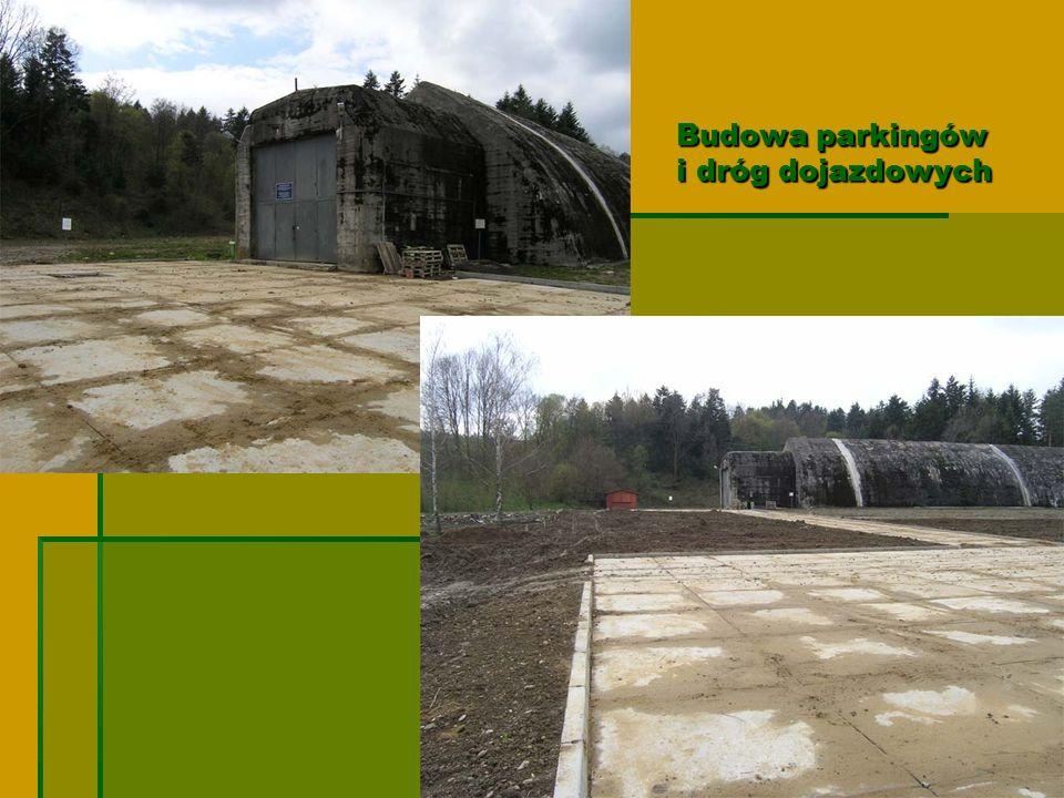 Budowa parkingów i dróg dojazdowych