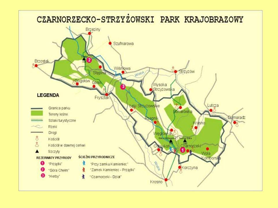 PARK KRAJOBRAZOWY Jest obszarem chronionym ze względu na wartości przyrodnicze, historyczne i kulturowe, a celem jego utworzenia jest zachowanie, popu