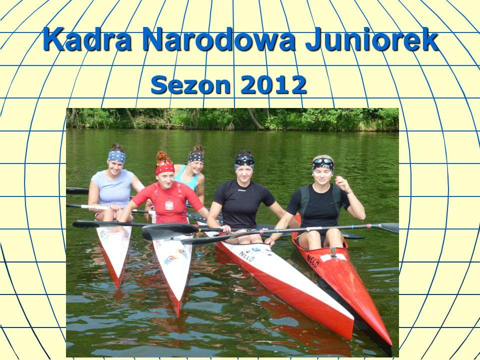 Kadra Narodowa Juniorek Sezon 2012