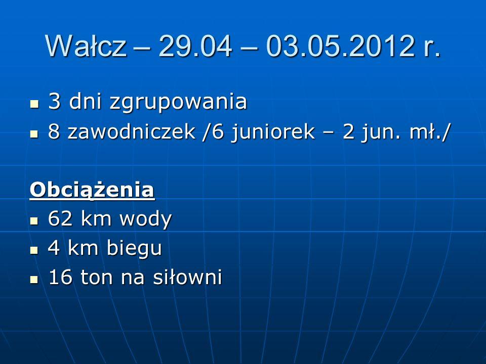 Wałcz – 29.04 – 03.05.2012 r.
