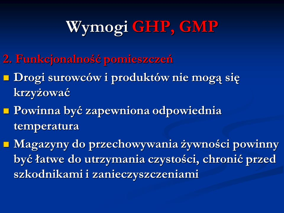 System HACCP 2.
