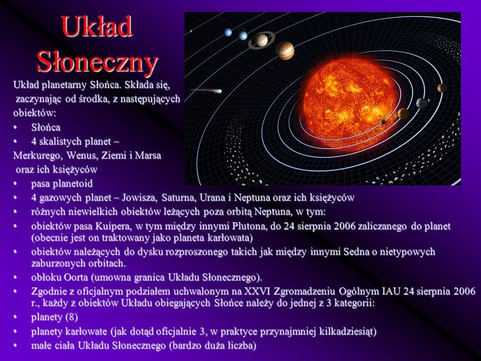 Planety w Układzie Słonecznym można podzielić na dwie, wyraźnie się różniące kategorie.