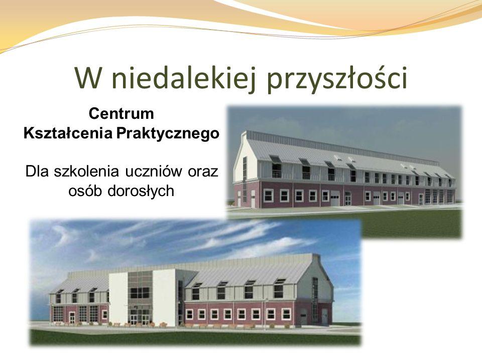 W niedalekiej przyszłości Centrum Kształcenia Praktycznego Dla szkolenia uczniów oraz osób dorosłych