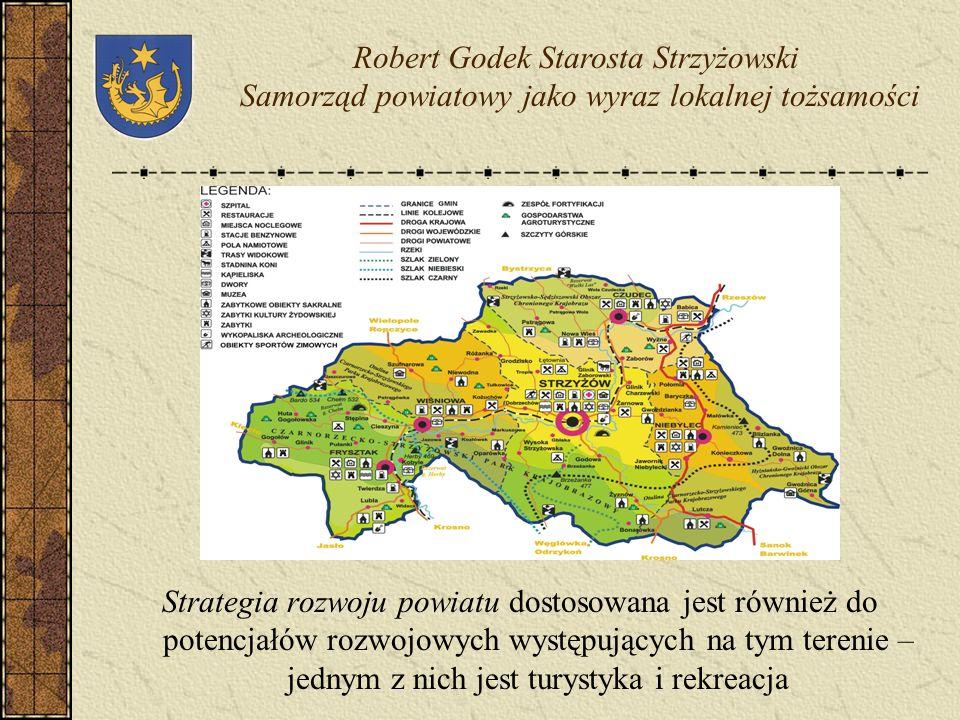 Wyznaczone w wizji rozwoju powiatu strzyżowskiego pola strategiczne rozwoju powiatu stanowią komplementarną całość i odpowiadają potrzebom społecznym