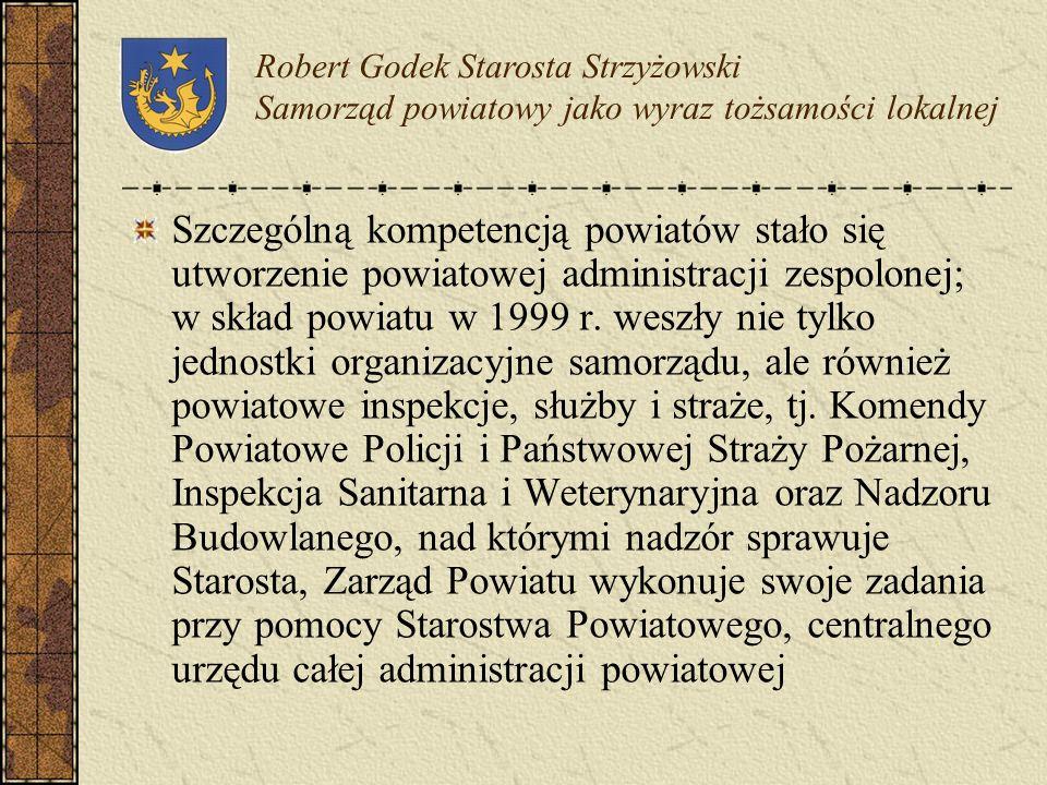 Podobnie jak w przypadku samorządów gminnych powiaty jako struktury samorządowe dysponują organem stanowiącym, jakim jest Rada Powiatu, organem wykona