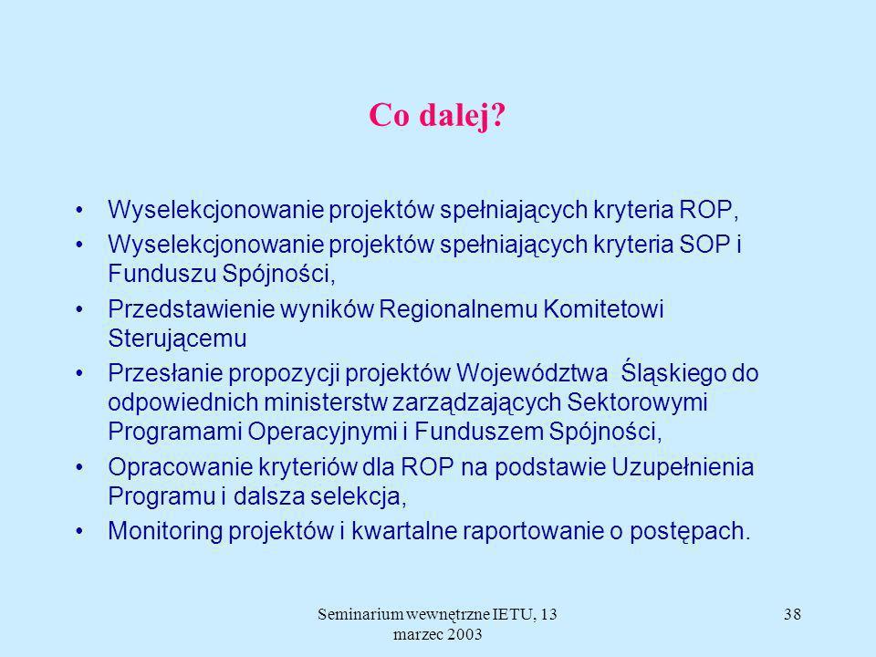 Krajowa baza kart projektów Ministerstwa Gospodarki http://isekp.mg.gov.pl