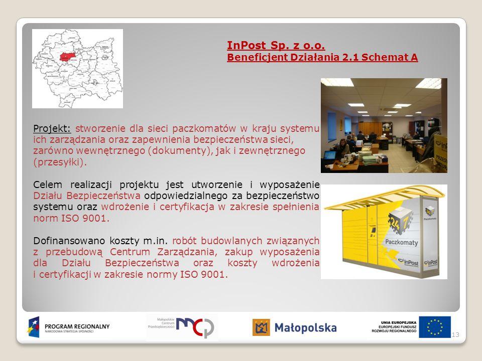Projekt: stworzenie dla sieci paczkomatów w kraju systemu ich zarządzania oraz zapewnienia bezpieczeństwa sieci, zarówno wewnętrznego (dokumenty), jak