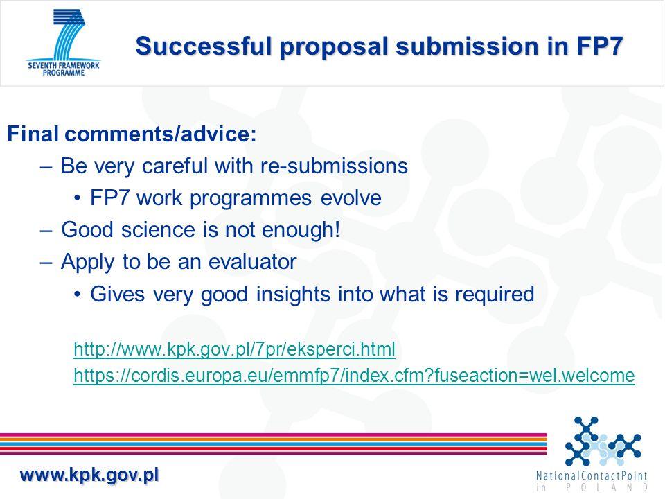 www.kpk.gov.pl 2. Jak opisać Naukowe i technologiczne cele projektu i aktualny stan wiedzy