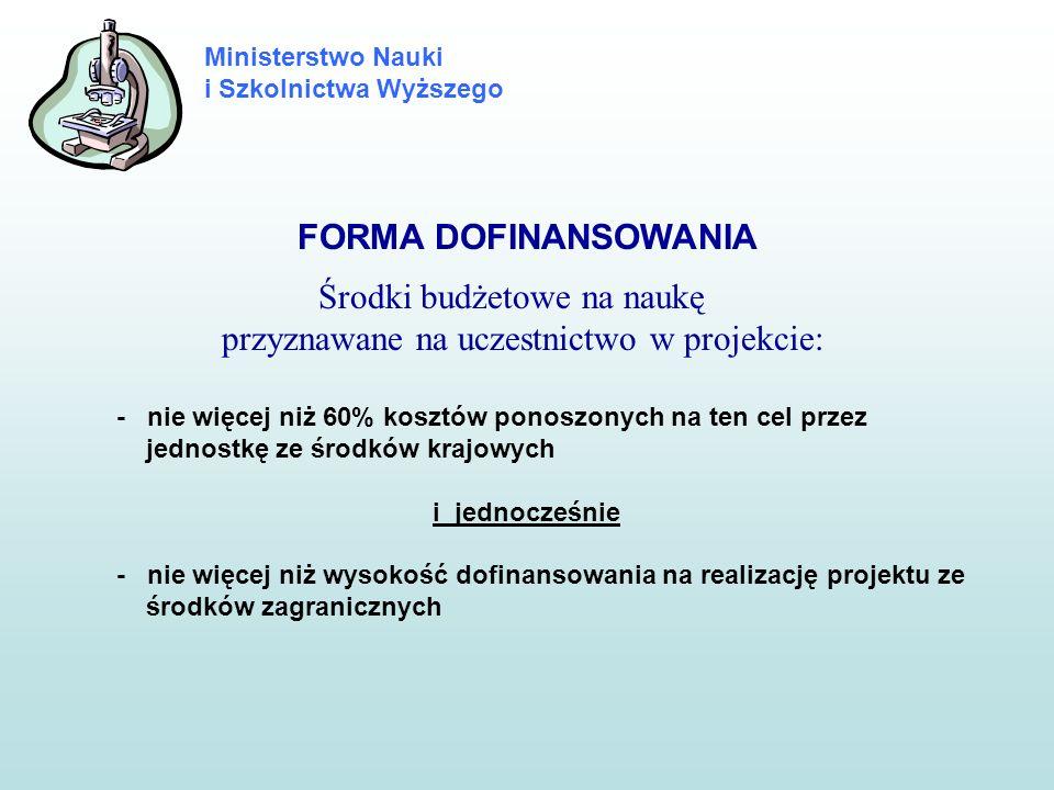 Ministerstwo Nauki i Szkolnictwa Wyższego KRYTERIA WERYFIKACJI WNIOSKÓW (Par.