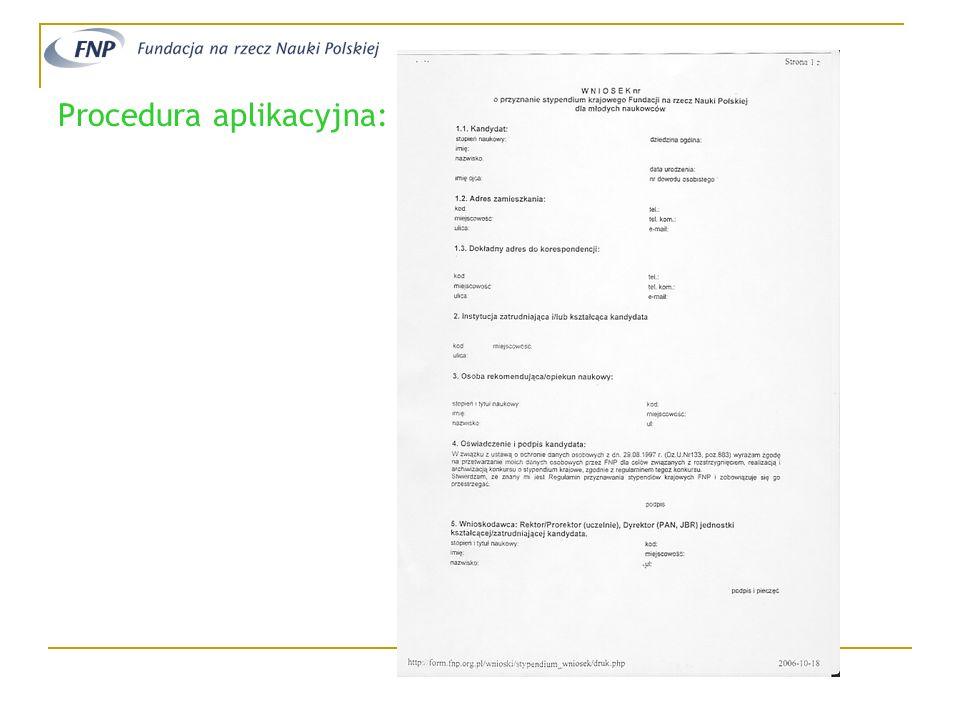 Fundacja na rzecz Nauki Polskiej www.fnp.org.plwww.fnp.org.pl (START) Towarzystwo Naukowe Warszawskie www.tnw.waw.plwww.tnw.waw.pl (STYPENDIA KONFERENCYJNE) Dziękuję za uwagę i… ŻYCZĘ POWODZENIA!!.