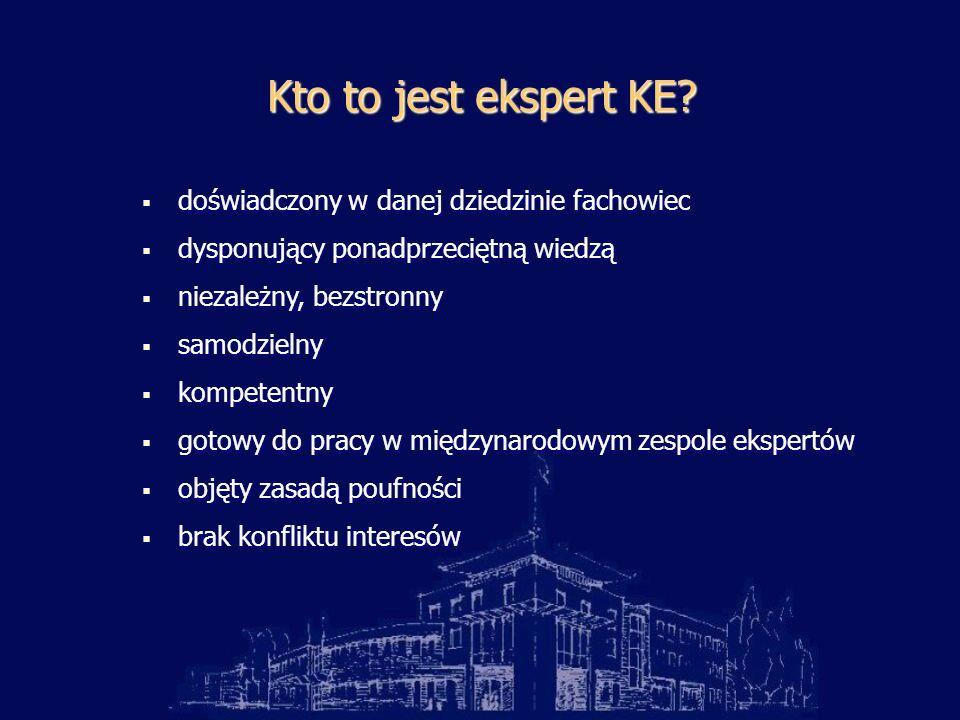 Kto to jest ekspert KE.