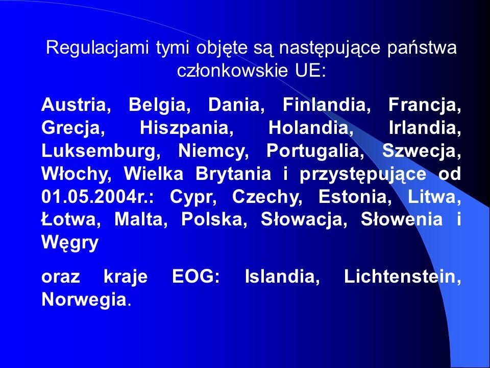 Przykład 1 Obywatel polski mieszka w Warszawie a zatrudniony jest w przedsiębiorstwie mającym siedzibę w Hamburgu i prowadzącym sieć handlową w całej Europie.
