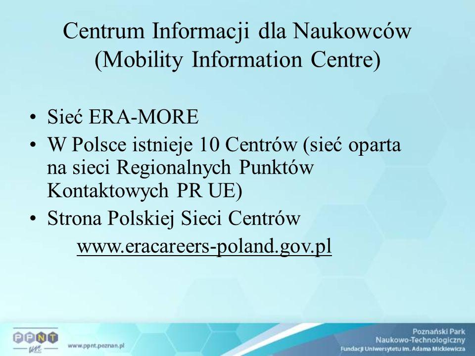Polityka mobilności w UE: 700 tys.mobilnych naukowców do 2010 roku ok.