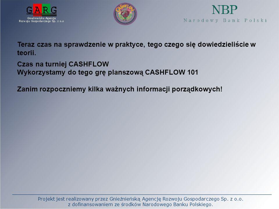 Projekt jest realizowany przez Gnieźnieńską Agencję Rozwoju Gospodarczego Sp. z o.o. z dofinansowaniem ze środków Narodowego Banku Polskiego. Teraz cz