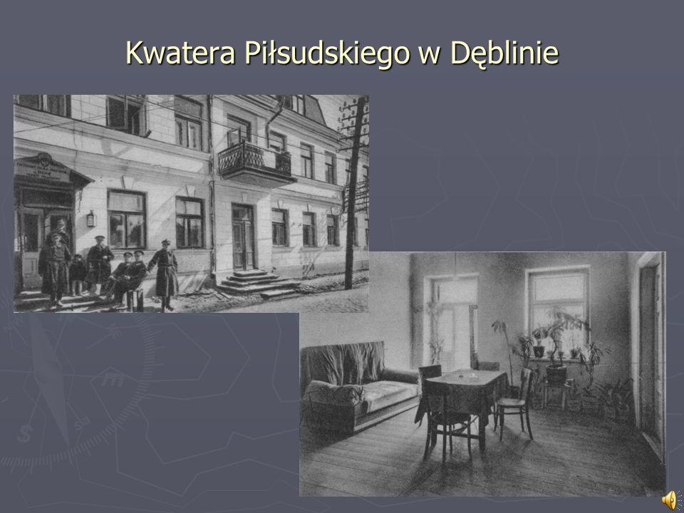 Kwatera Piłsudskiego w Dęblinie