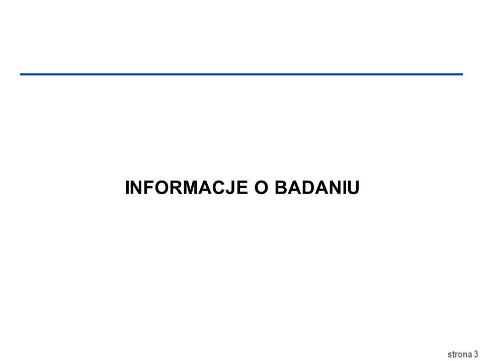 strona 3 INFORMACJE O BADANIU