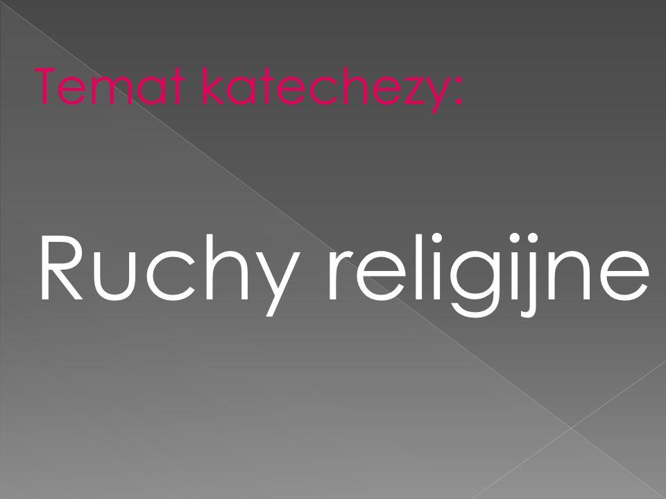 Co jest potrzebne by należeć do wspólnoty religijnej?