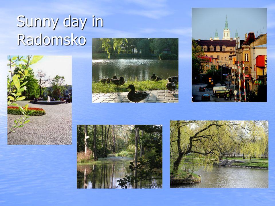 Sunny day in Radomsko
