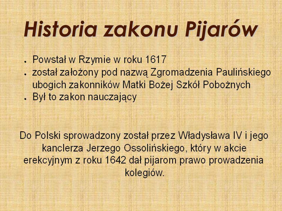 Życie zakonne Konarskiego Wstąpił do zakonu w 1715 r.