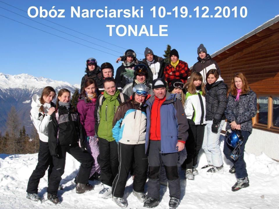 Obóz Narciarski 10-19.12.2010 TONALE