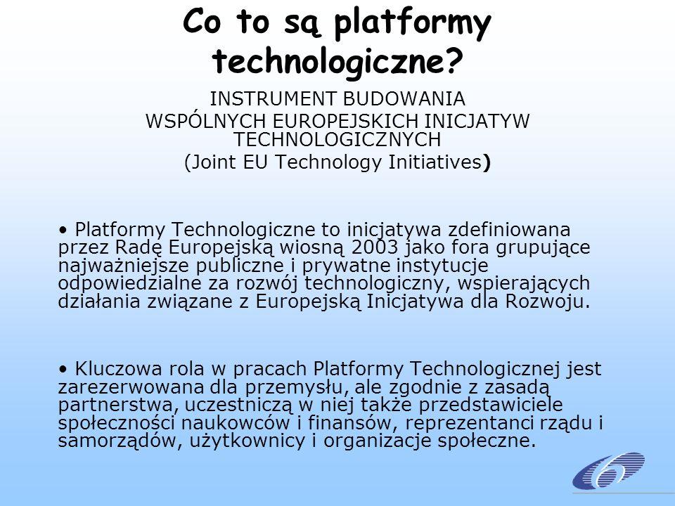Co to są platformy technologiczne.