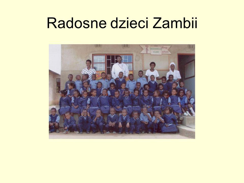 Radosne dzieci Zambii