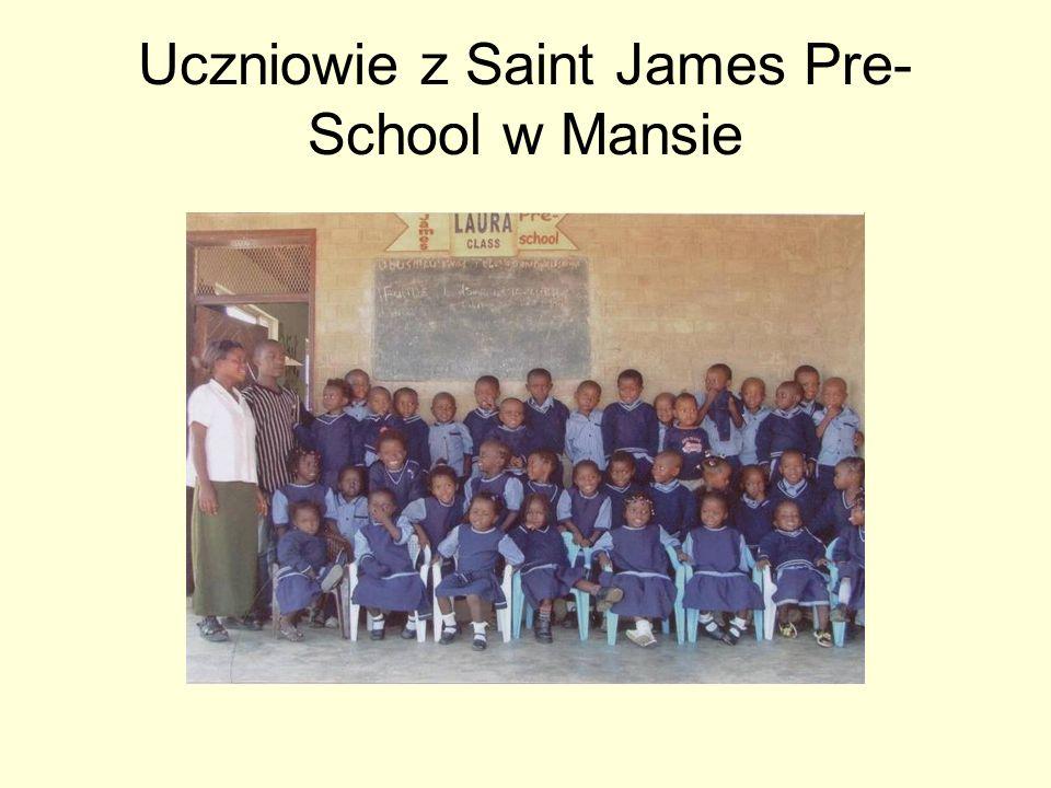 Uczniowie z Saint James Pre- School w Mansie