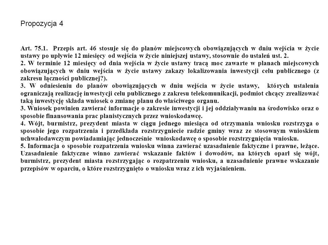 Propozycja 4 Art. 75.1. Przepis art.
