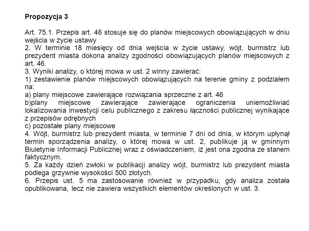 Propozycja 3 Art. 75.1. Przepis art.