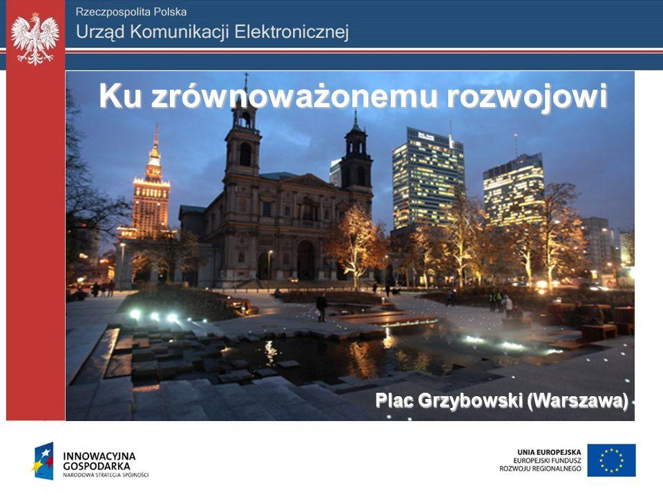 Plac Grzybowski (Warszawa) Ku zrównoważonemu rozwojowi