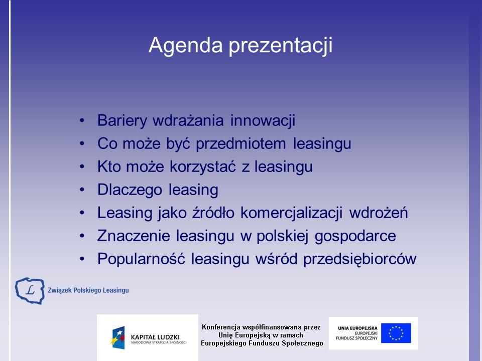 Warszawa, ul.Rejtana 17 tel: (22) 542 41 36/39 fax: (22) 542 41 37 e-mail: zpl@leasing.org.pl www.leasing.org.pl Związek Polskiego Leasingu