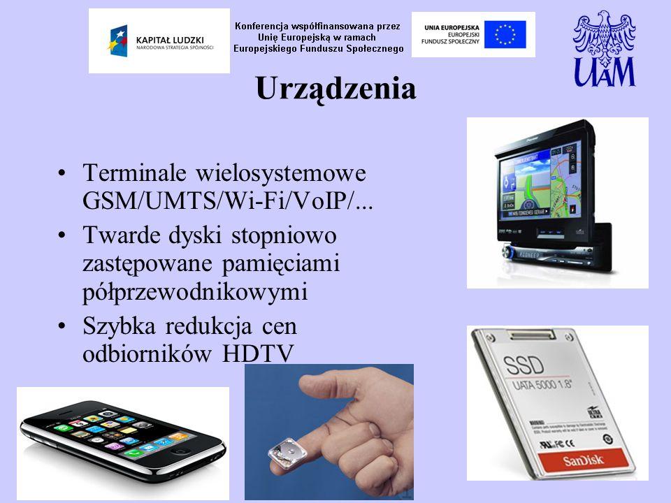 Urządzenia Terminale wielosystemowe GSM/UMTS/Wi-Fi/VoIP/...