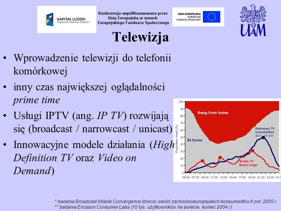 * badania Broadcast Mobile Convergence (bmco) wśród zachodnioeuropejskich konsumentów II poł.