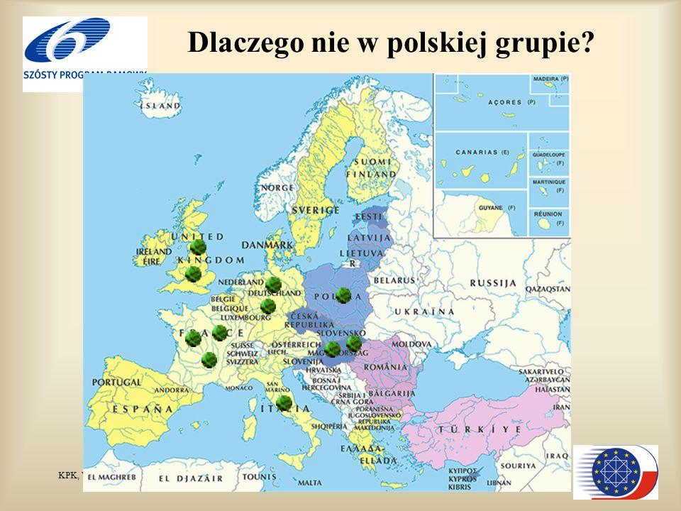 KPK, Wiesław Studencki Dlaczego nie w polskiej grupie