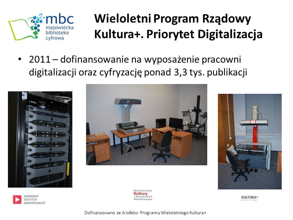 13 instytucji współpracujących: Biblioteka Publiczna m.st.