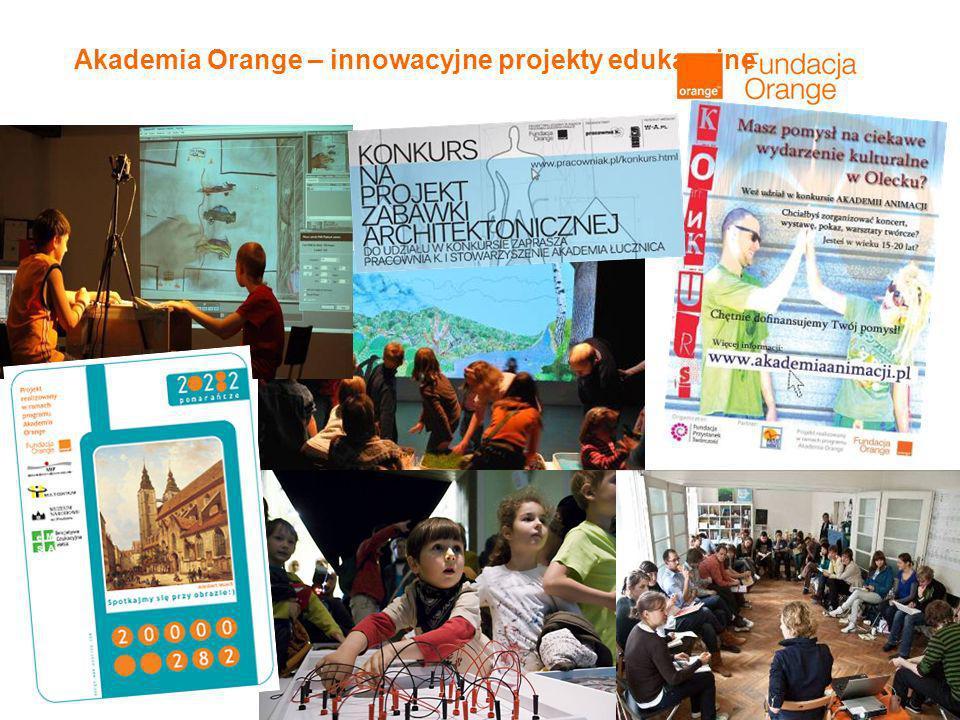 7 Akademia Orange – innowacyjne projekty edukacyjne