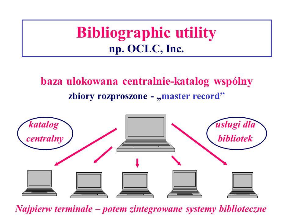 Bibliographic utility np.OCLC, Inc.