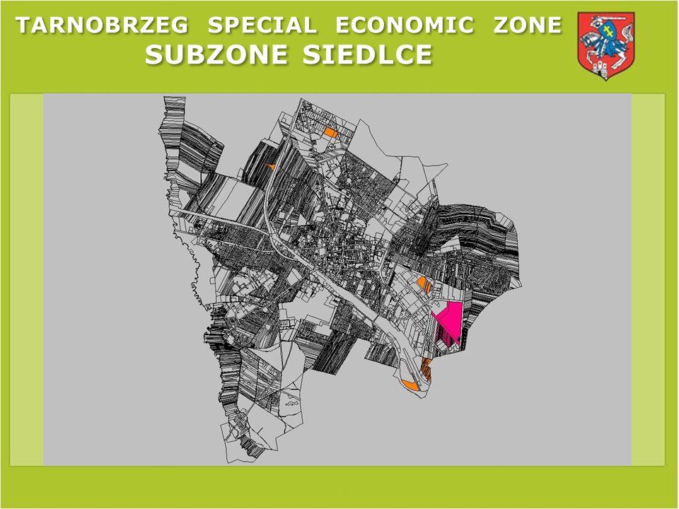 TARNOBRZEG SPECIAL ECONOMIC ZONE SUBZONE SIEDLCE