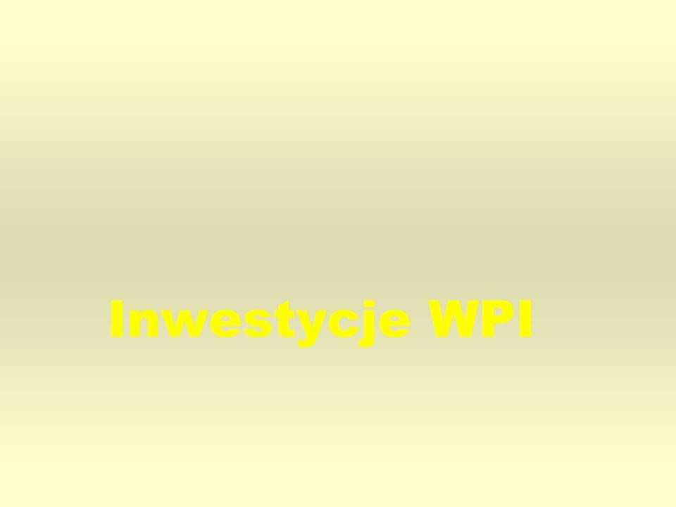 Inwestycje WPI